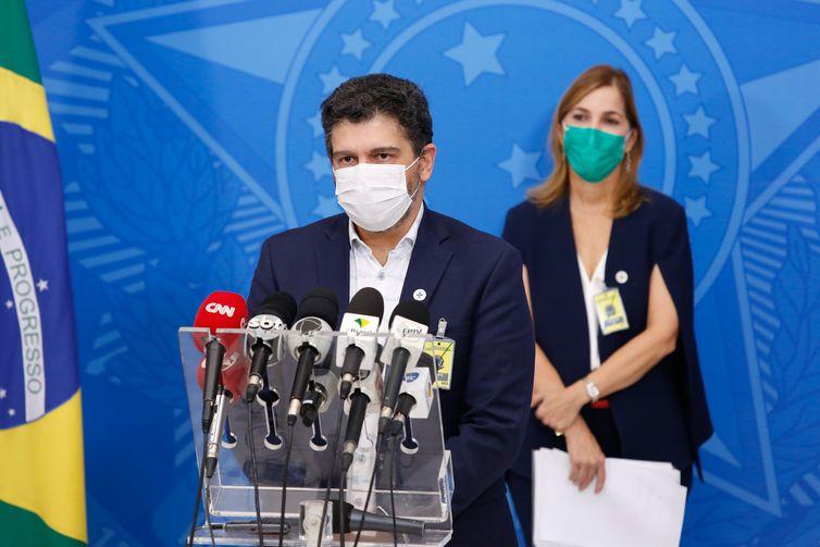 Secretário-substituto de Vigilância em Saúde do Ministério da Saúde, Eduardo Macário. - Anderson Riedel/PR