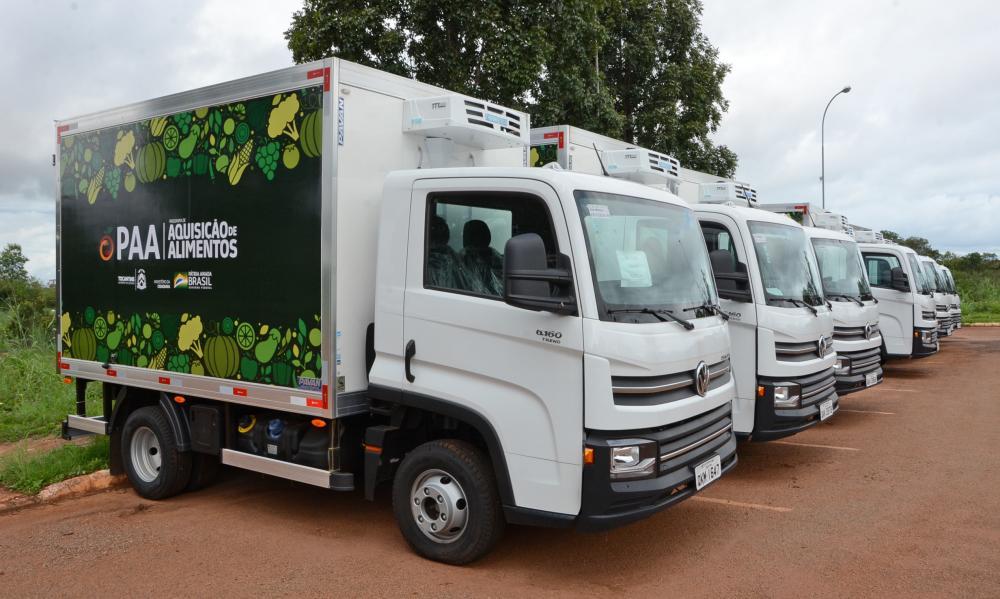 PAA entrega equipamentos para mais três municípios e fortalece a agricultura familiar