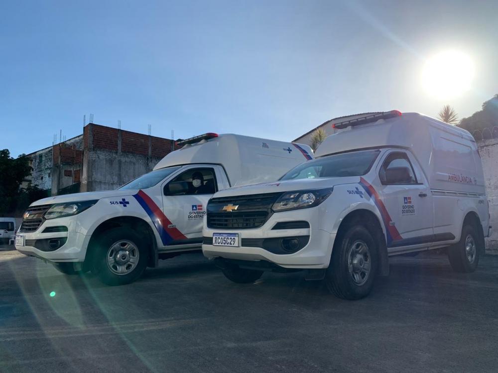 Governo da Bahia entrega mais 26 ambulâncias picape para reforçar o combate ao coronavírus no interior
