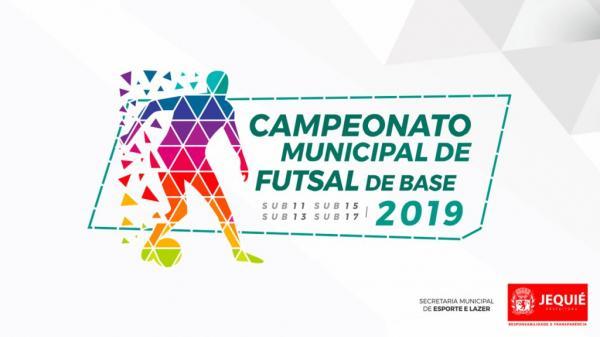 Prefeitura de Jequié dará início ao Campeonato Municipal de Futsal de Base 2019