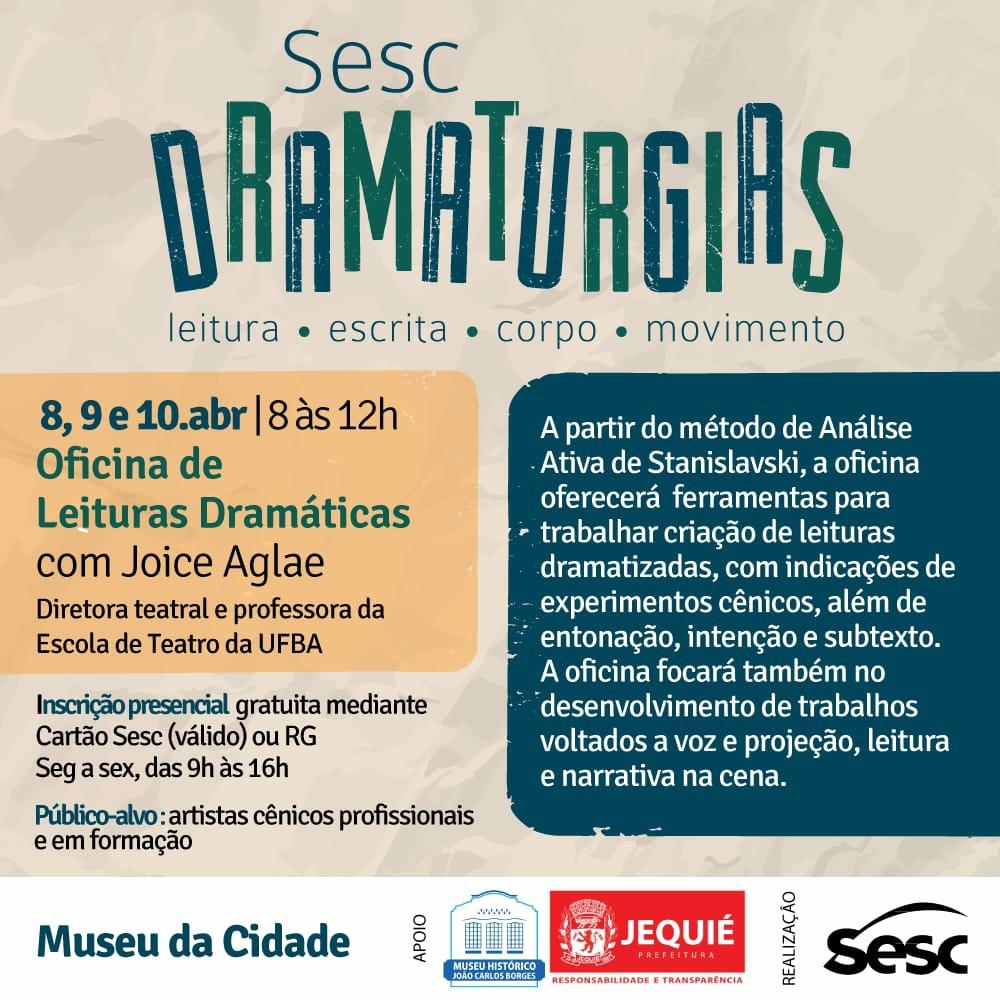 Prefeitura de Jequié e Serviço Social do Comércio promovem projeto cultural no Museu