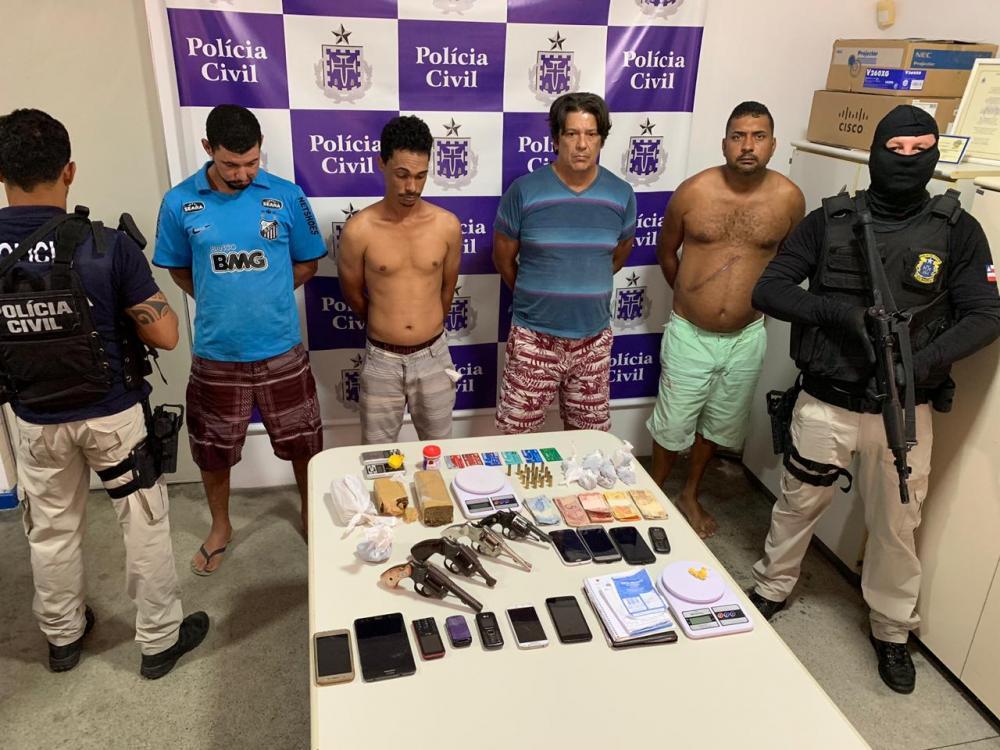 Desmontado grupo que atuava com esquema de drogas delivery