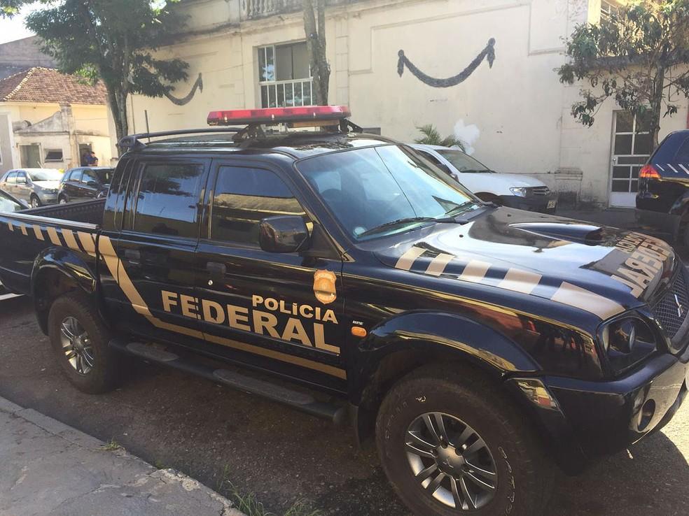 Operação da PF apura fraude na Secretaria de Saúde