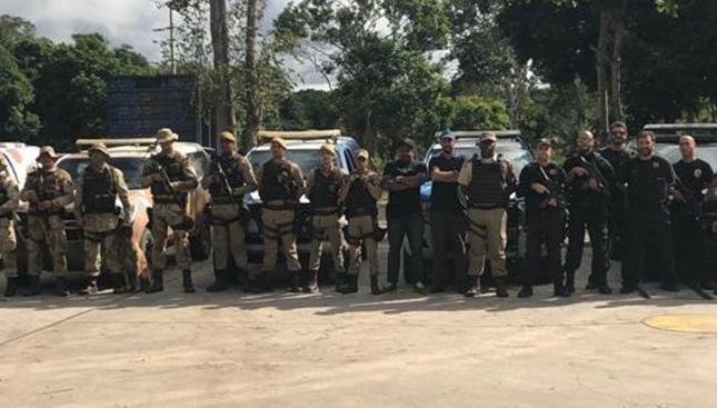 Operação integrada combate quadrilha em quatro estados