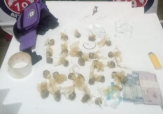Menor apreendido por tráfico de Drogas em Itaquara