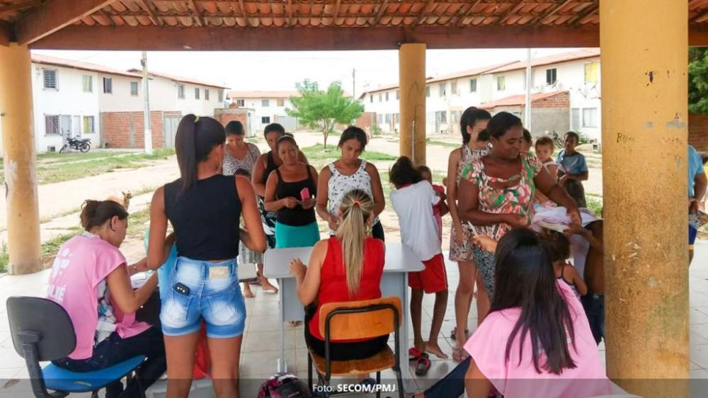 Jequié realiza ação para pesagem dos beneficiários do Bolsa Família dos residenciais habitacionais