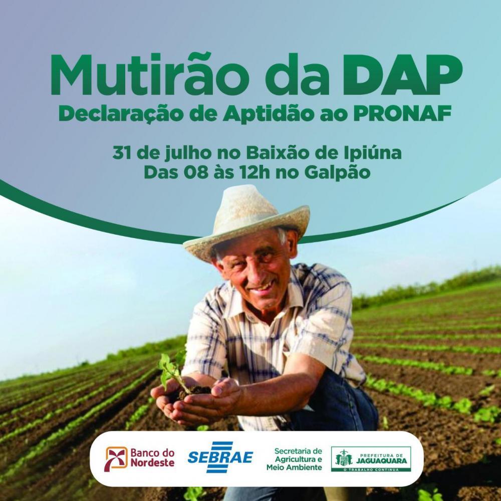Mutirão garante emissão e renovação de DAP em Jaguaquara