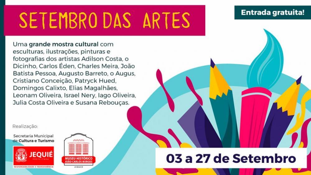 Setembro das Artes será promovido em Jequié