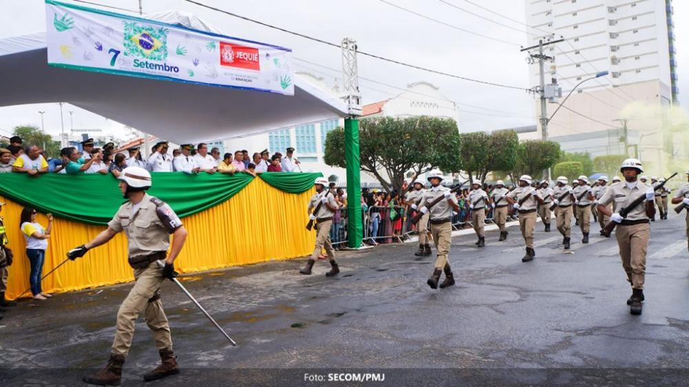 Comemoração do 7 de Setembro contará com desfile cívico-militar