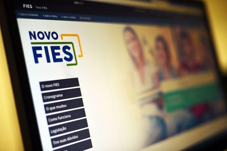 Inscrições podem ser feitas na página do Fies na internet - Marcello Casal Jr/ Arquivo/Agência Brasil