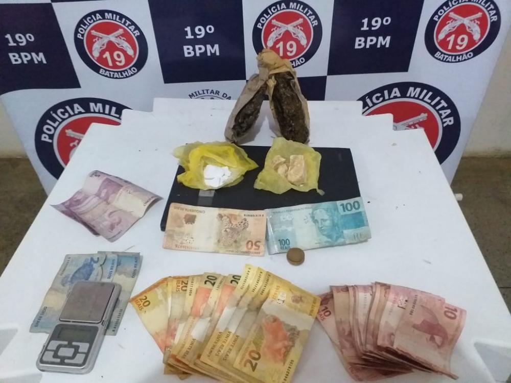 Itaquara: Mulher de 26 anos é conduzida e menor de 17 apreendido por tráfico de Drogas