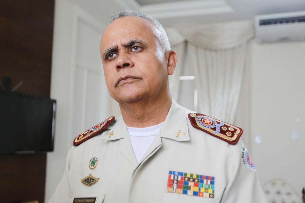 Polícia Militar não está em greve, garante Comandante Geral