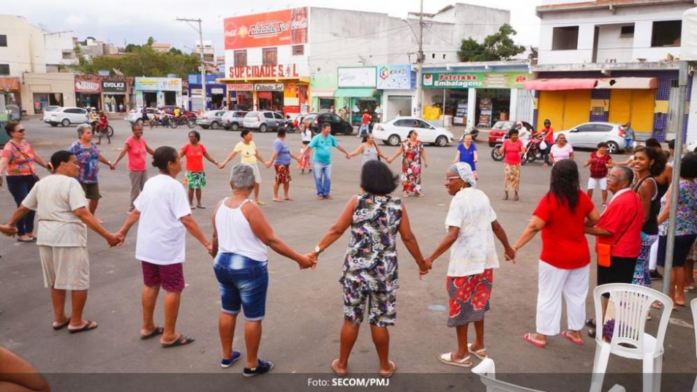 Prefeitura de Jequié promove ação integrativa para idosos do Joaquim Romão