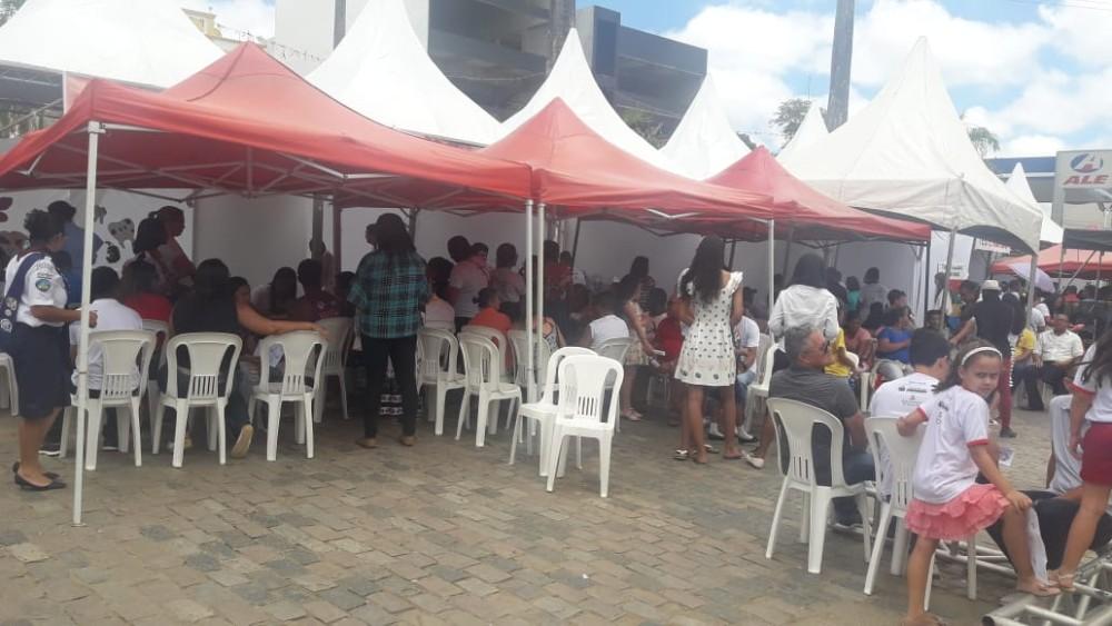 Prefeitura Municipal de Jaguaquara realiza Feira de Saúde