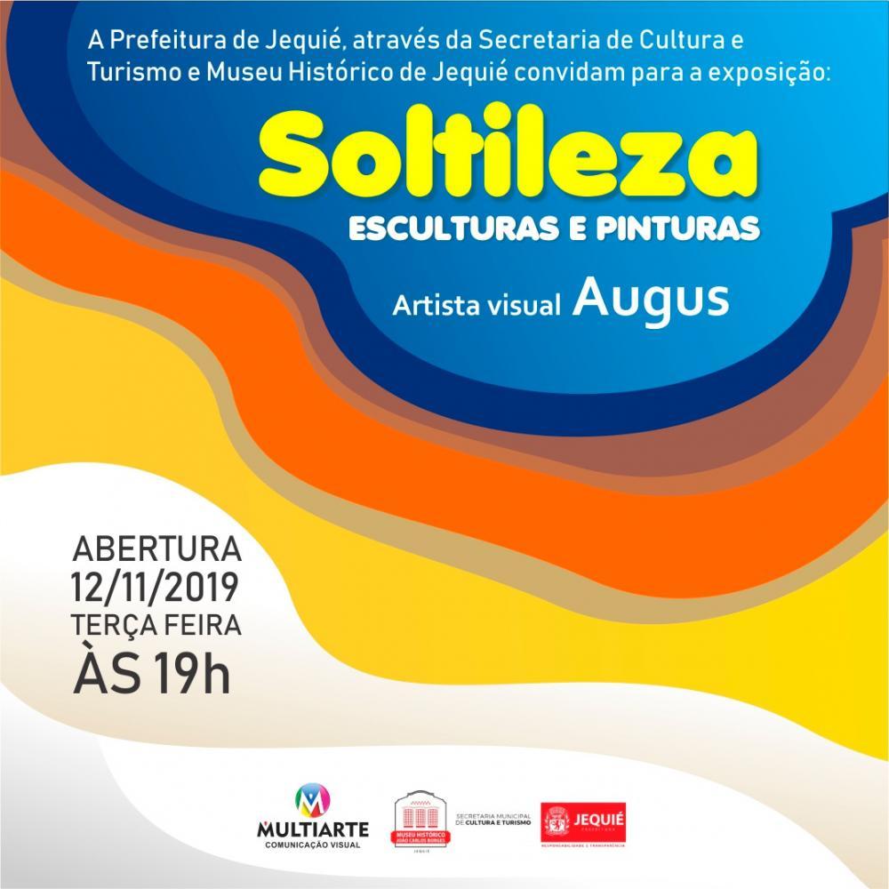 Exposição 'Soltileza Esculturas e Pinturas' será realizada no Museu Histórico de Jequié