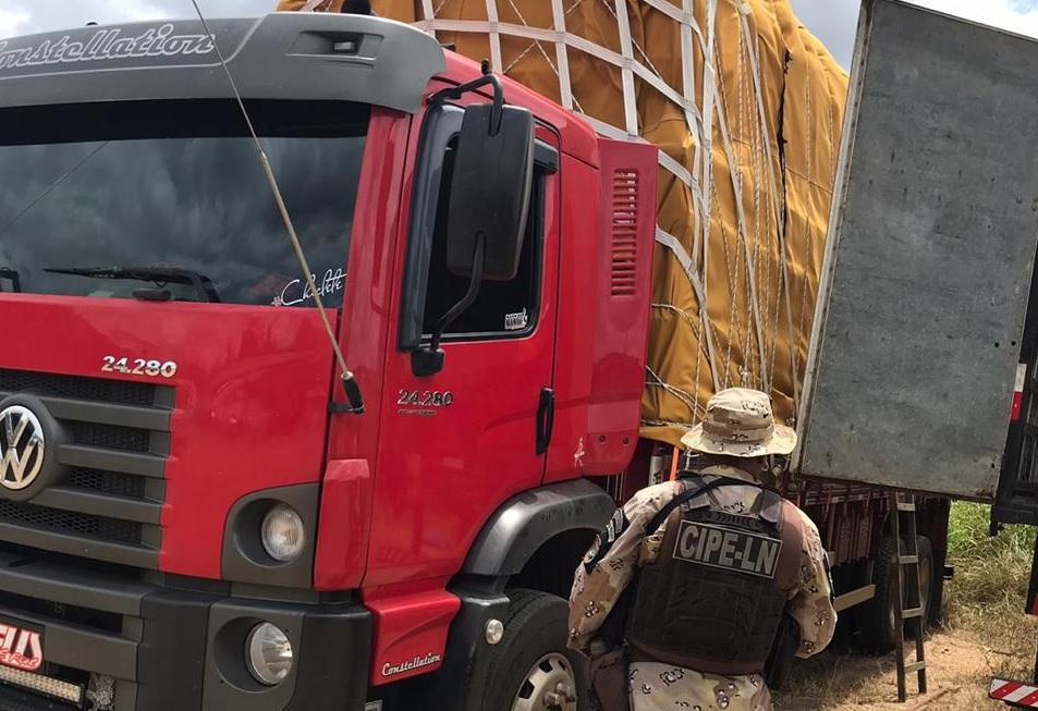 Duas toneladas de cigarro são apreendidas em São Gonçalo