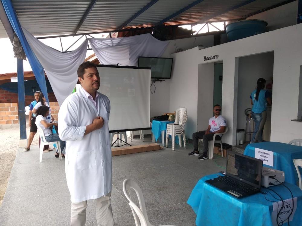 Unidade de Saúde José Maria Fontinele realiza Dia D de Conscientização sobre a saúde do Homem