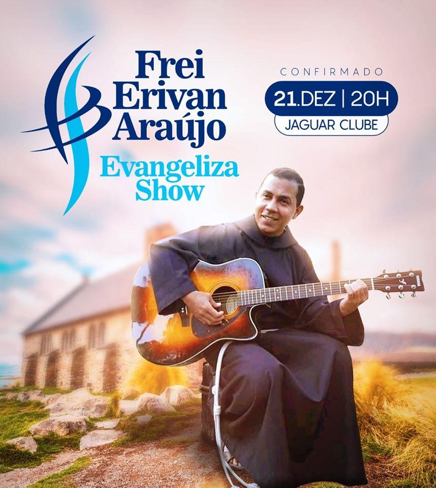 """Frei Erivan canta """"Chão de Deus"""""""