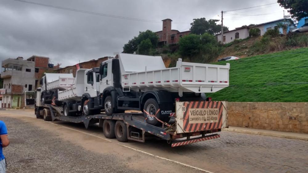 Renovação de Frota: Prefeitura de Jaguaquara recebe novos veículos