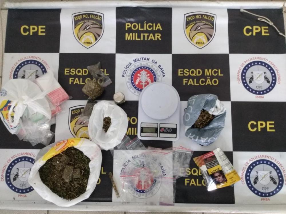 Três presos com dinheiro proveniente do tráfico de drogas