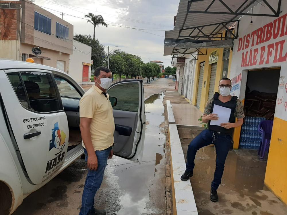 Fiscalização está sendo intensa em Serra do Ramalho depois de decreto do prefeito